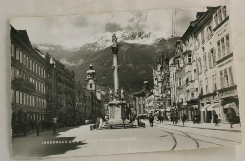 vintage postcard, Austria, Innsbruck, Germany