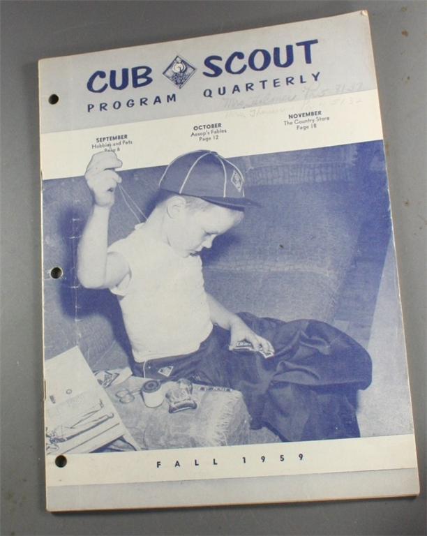 Boy Scouts, vintage magazine, Cub Scout, 1950s