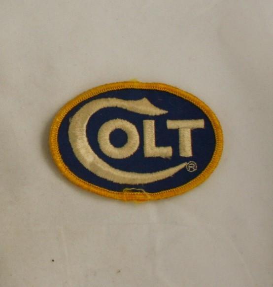 vintage patch, hunting, firearm, Colt, company