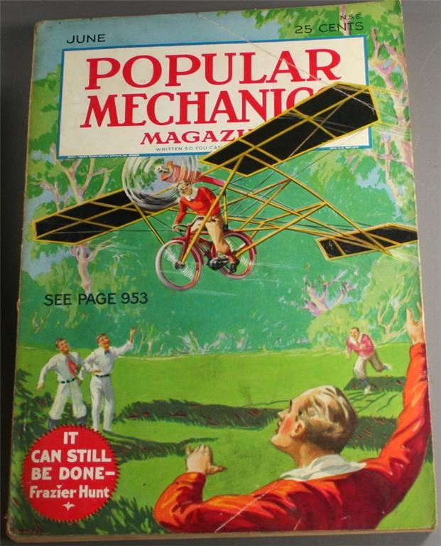 vintage magazine, back issue, Popular Mechanics,June, 1932