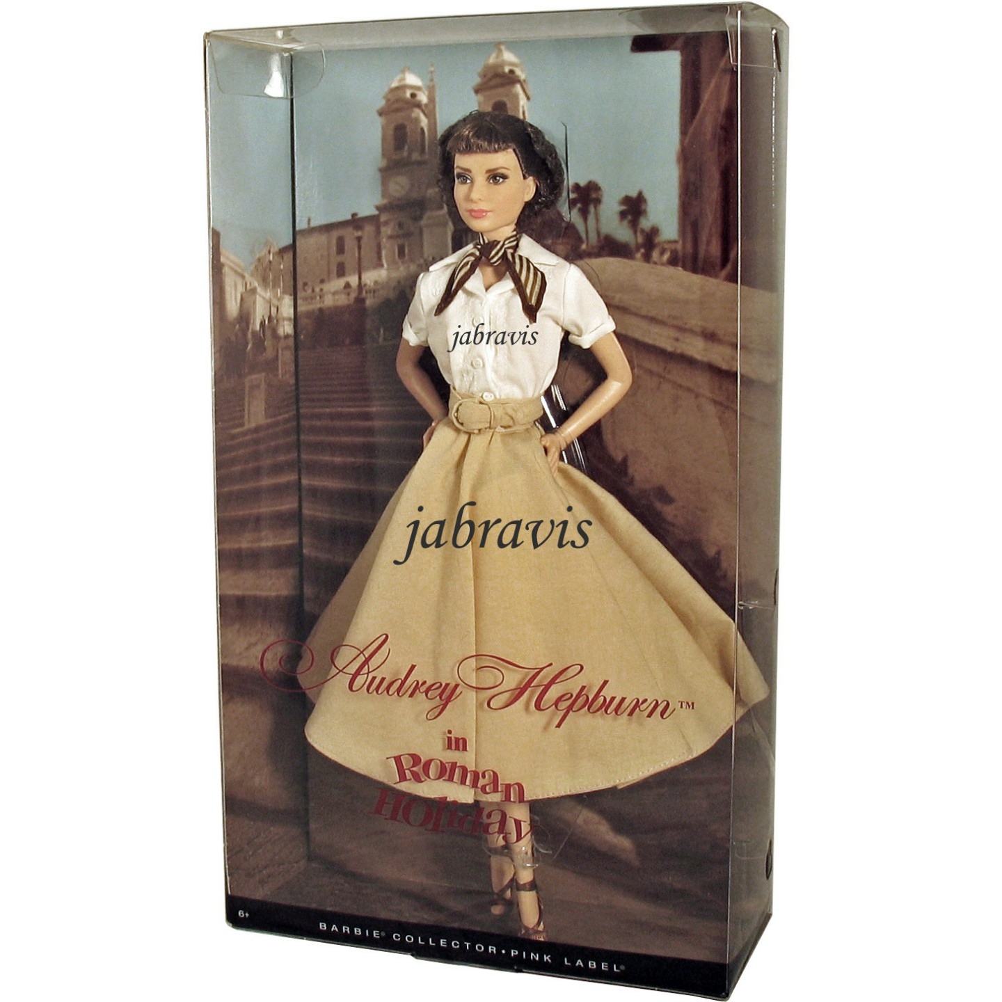 Barbie Collector 2013 AUDREY HEPBURN In ROMAN HOLIDAY Doll NRFB IN HAND EBay