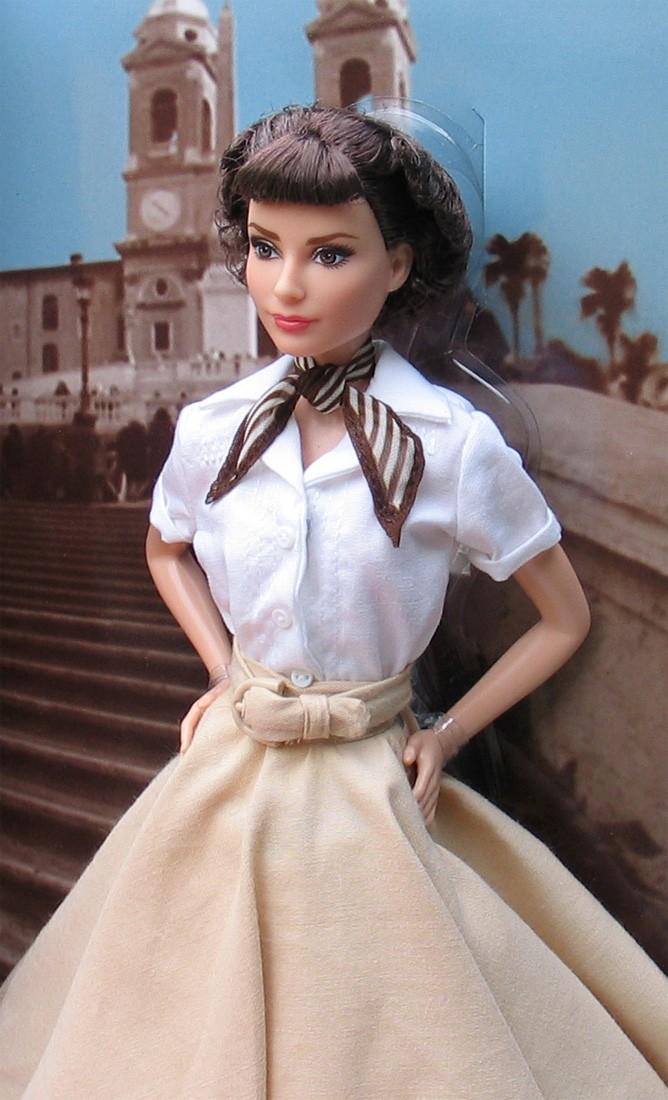 Barbie Collector 2013 Audrey Hepburn En Vacaciones