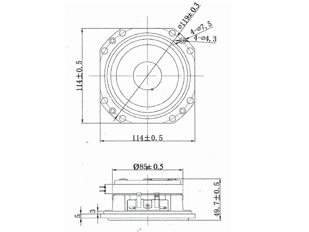Jbl Le5 Midrange Copy For L80 L80t L80t3 L88 L222 Disco