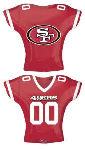 SAN FRANCISCO 49ERS FOOTBALL PARTY BALLOONS Decorations Supplies