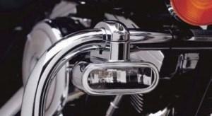 Harley Davidson Fog Lamp Kit Engine Guard Mounted 6891398