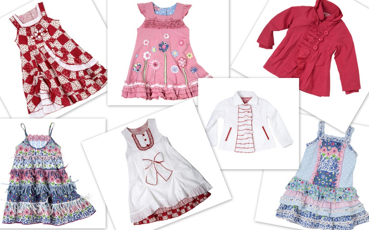 WHOLESALE BOUTIQUE BRAND NAME GIRLS CLOTHING RV $5000