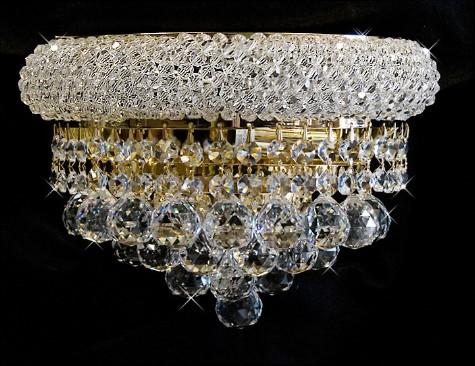 Palace Lighting Wall Sconce Foyer Dining Crystal