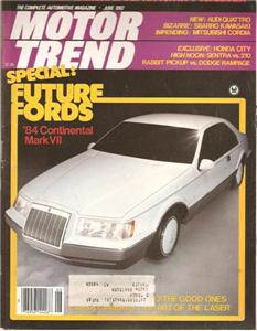 Motor Trned July 1982