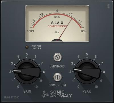sonic anomaly slax compression vst gratuit