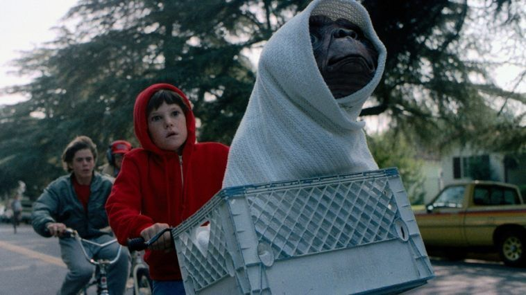 """E.T. El Extraterrestre"" de Steven Spielberg ha cumplido hoy 35 años"