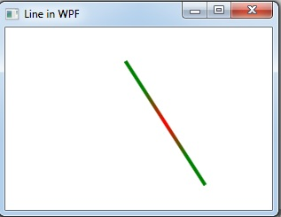 gradient line in WPF