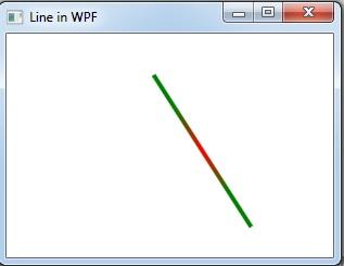 gradient line in WPF