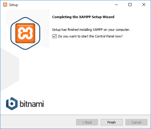 Successfully Installed XAMPP