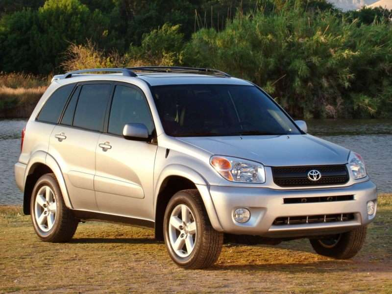 2004 Toyota RAV4 Pictures Including Interior And Exterior