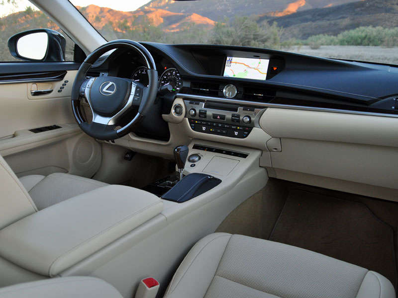 2014 Lexus ES 350 Luxury Sedan Road Test And Review