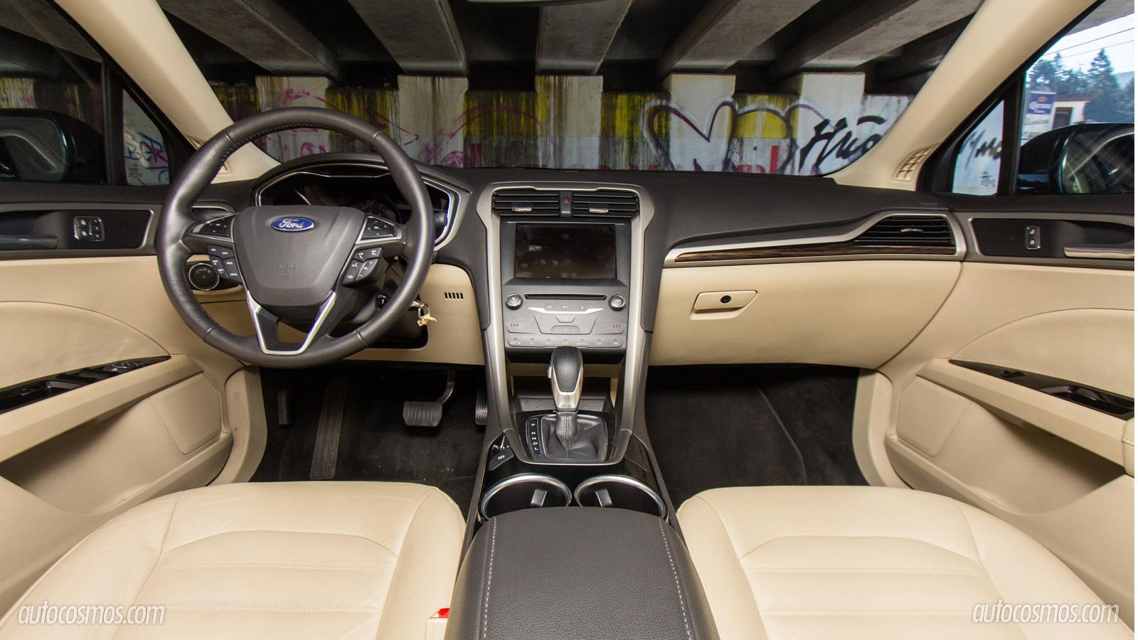 Ford Fusion Hbrido 2013 A Prueba