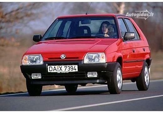 Skoda Favorit 135 Lx 1993 1995 Autocatalog Autogidaslt