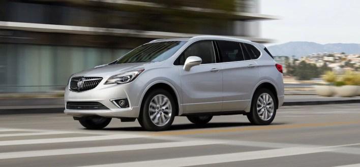 La Buick Envision tiene un par de años en nuestro país