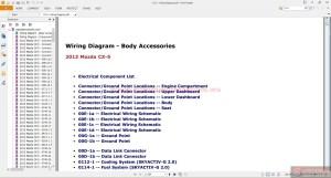 Mazda CX5 2013 Workshop Manual | Auto Repair Manual Forum