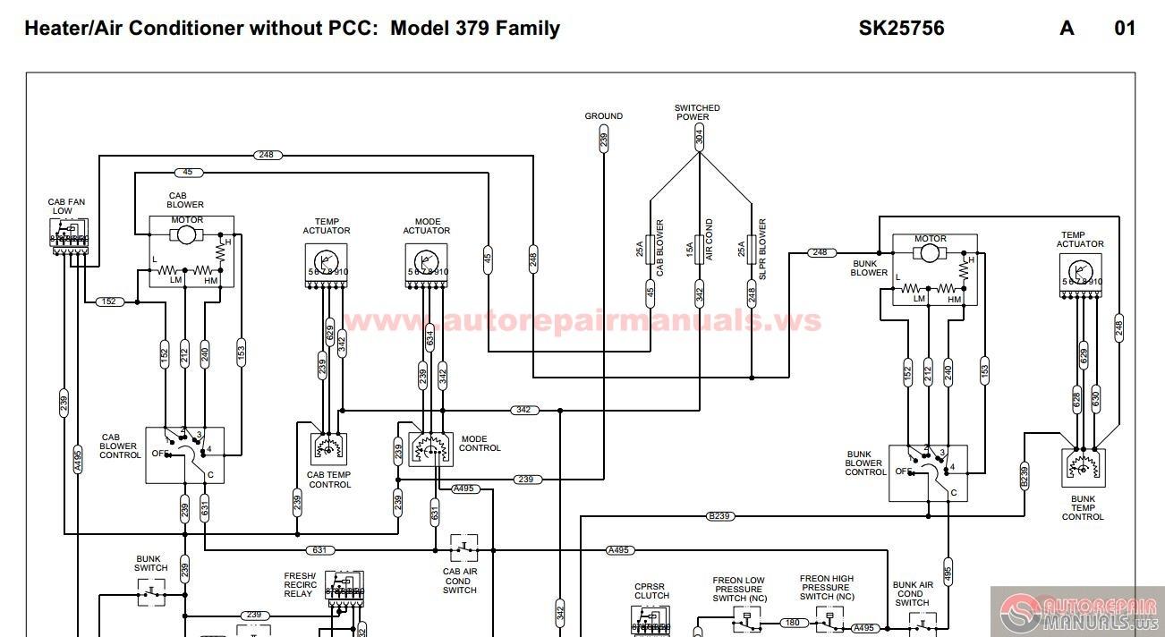 Peterbilt 389 Cab Wiring Schematic Sendec Meter Wiring Diagram