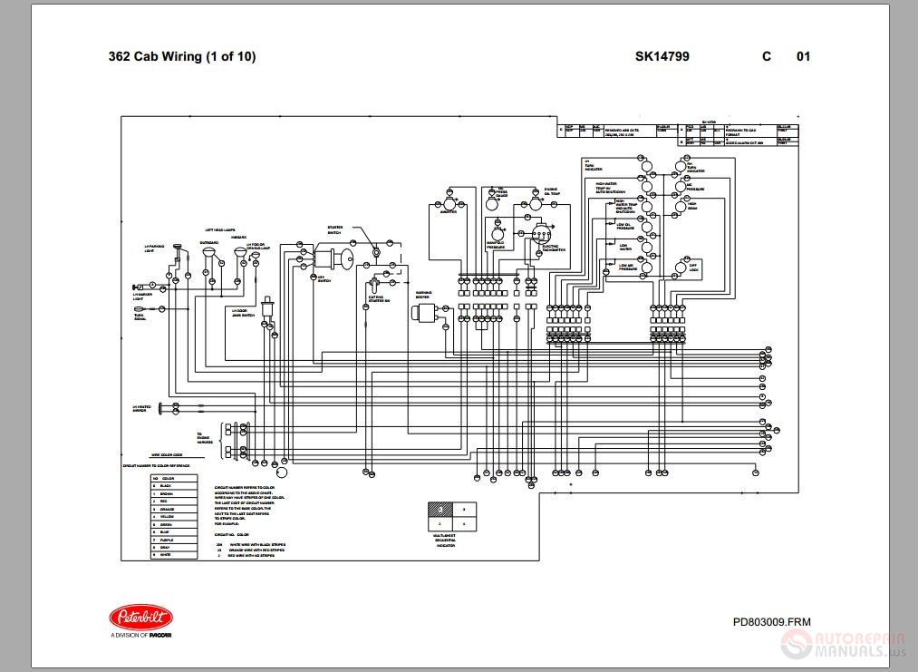 Peterbilt_ _PB362_Cab_Wiring_Schematic_SK14799 peterbilt 379 wiring diagram efcaviation com 2000 peterbilt 379 headlight wiring diagram at soozxer.org