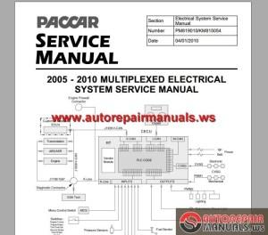 Paccar Multiplexed Service Manuals   Auto Repair Manual Forum  Heavy Equipment Forums