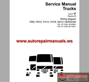 Volvo Trucks FM9,12,FH12,16,NH12 Wiring Diagram | Auto