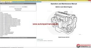 Cummins QSC83 and QSL9 Service Manual | Auto Repair