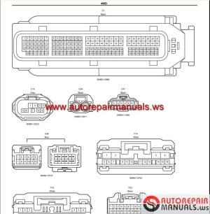 Toyota GSIC Repair Manual, Wiring Diagram, Body Repair