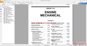Mitsubishi Mirage 2015 Workshop Manual | Auto Repair Manual Forum  Heavy Equipment Forums