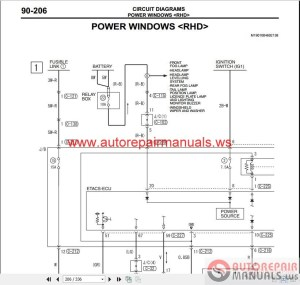 Mitsubishi Lancer IX 2006 Wiring Diagrams | Auto Repair