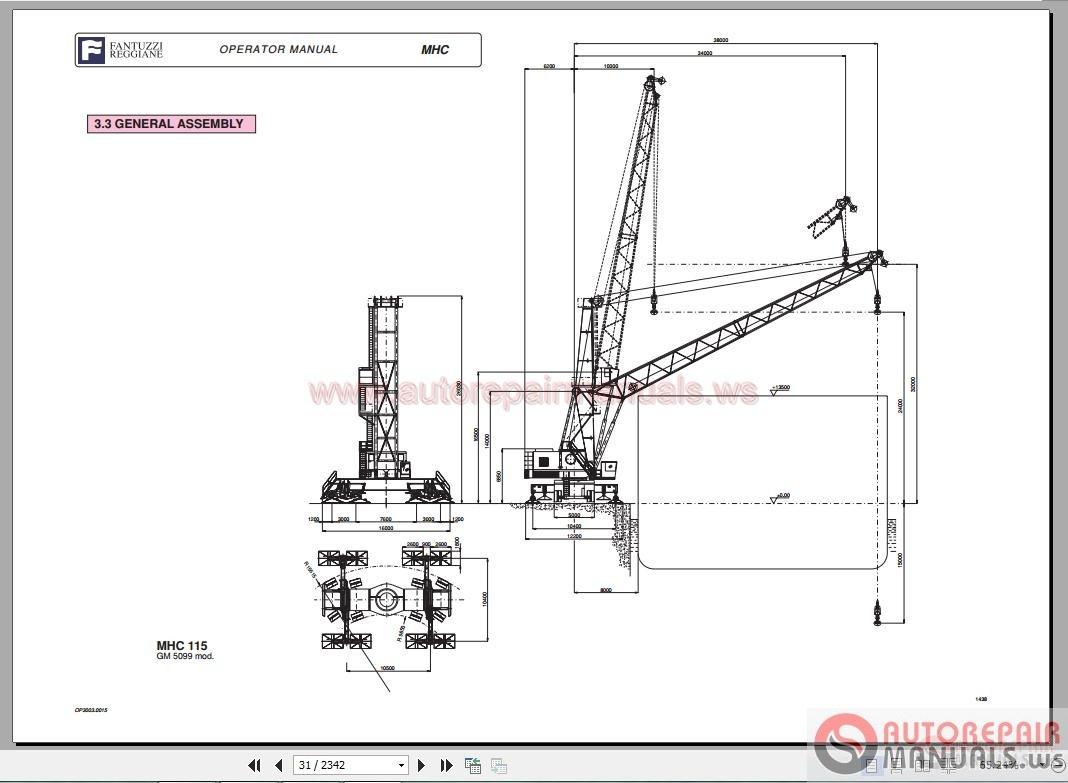 Auto Repair Manuals Fantuzzi Harbnour Cranes Operator