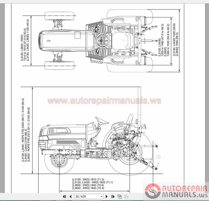 Wiring Diagram For Kubota L3800