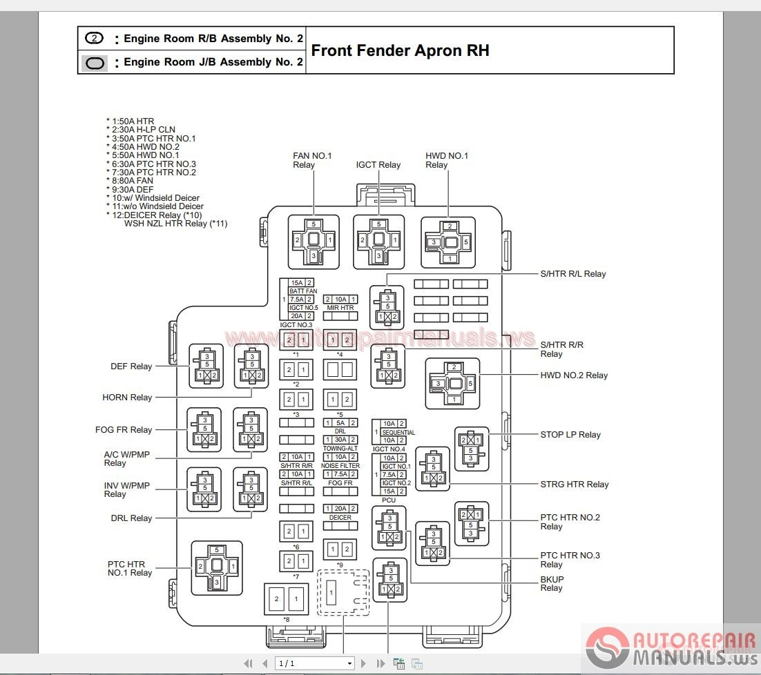 Mazda Fuse Map Diagram3 148x300 Tribute 2005 Power Distribution