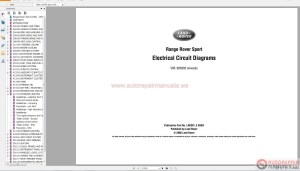 Land Rover Range Rover Sport NAS 20052010 Electrical