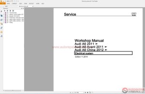 Audi A6 20122015 Service Repair Manual pdf | Auto Repair Manual Forum  Heavy Equipment Forums
