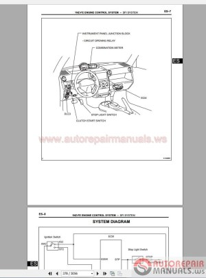 Toyota Scion xB 20052007 Service & Repair Manual | Auto