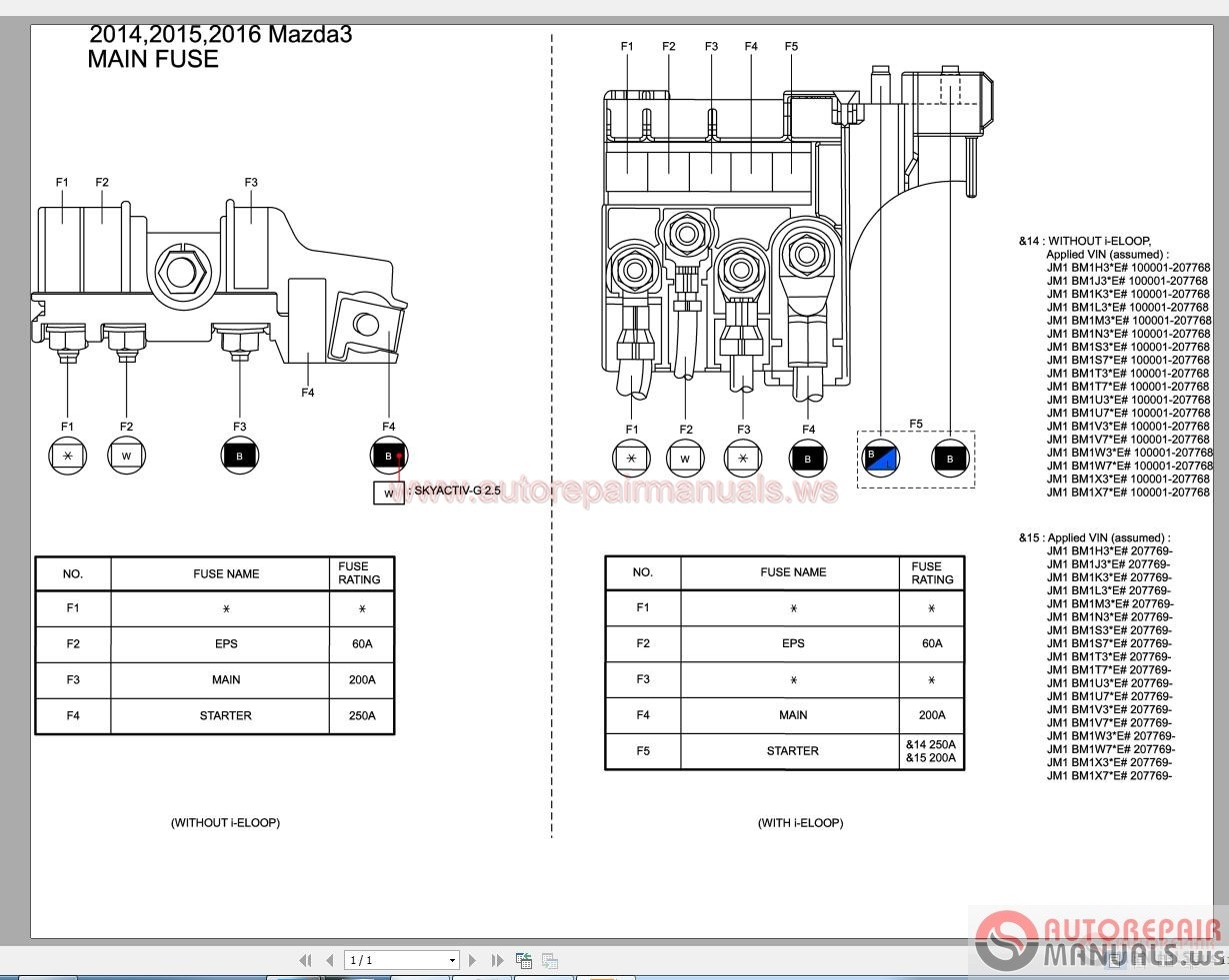 B Mazda Wiring Diagram