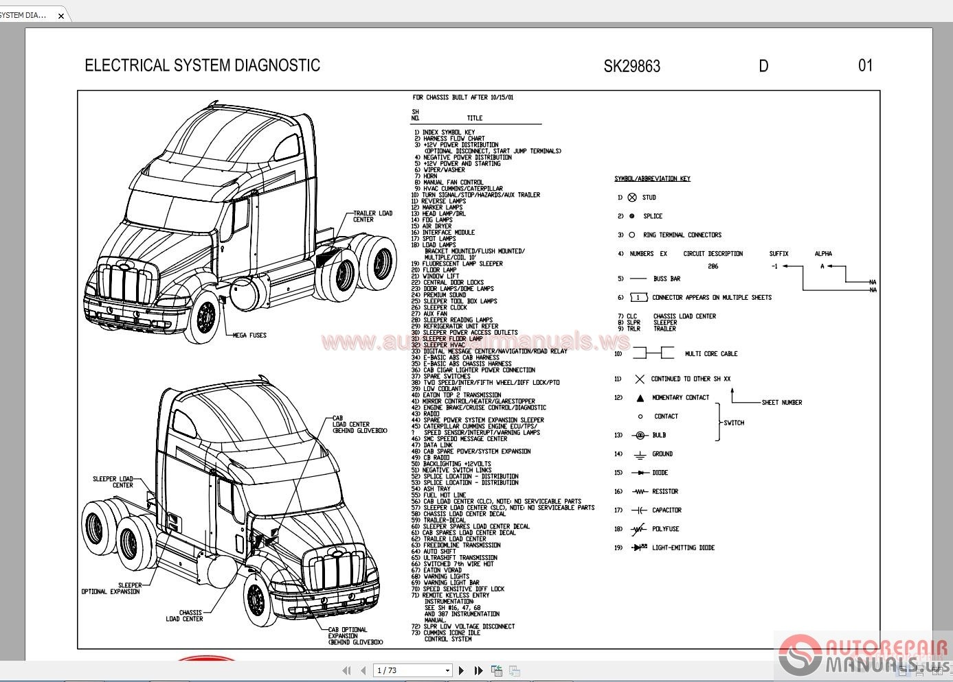 379 Peterbilt Sleeper Wiring Diagram