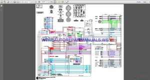 Cummins QSX15 Power Command Control 3200 Wiring Diagram