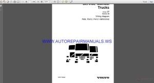 Volvo Trucks FM9 FM12 FH12 VERSION2 Wiring Diagram Service
