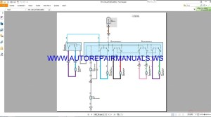 Toyota RAV4 Electrical Wiring Diagrams Manual 2013 | Auto