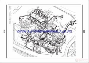 Renault Velsatis X73 NT8326 Disk Wiring Diagrams Manual 09