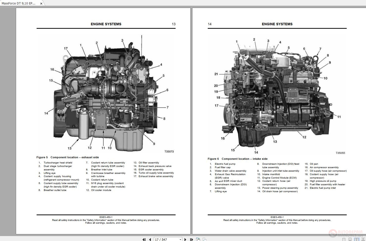 7abb5 Maxxforce Engine Diagram Fuel Pump