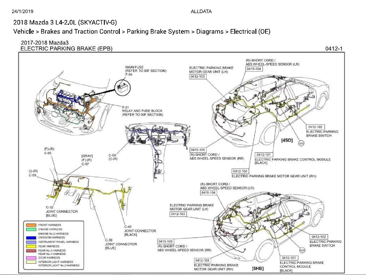 Mazda 3 L4 2 0l Skyactiv G Diagnostic Wiring