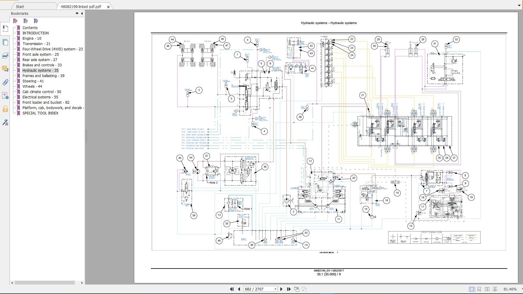 Arms Case Wheel Loader New Model Service Manual Full Dvd