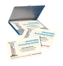 Avery Clean Edge Printable Business Cards Matte 90 Cards