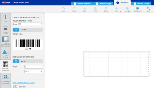How To Create Your Own Barcodes Avery Com