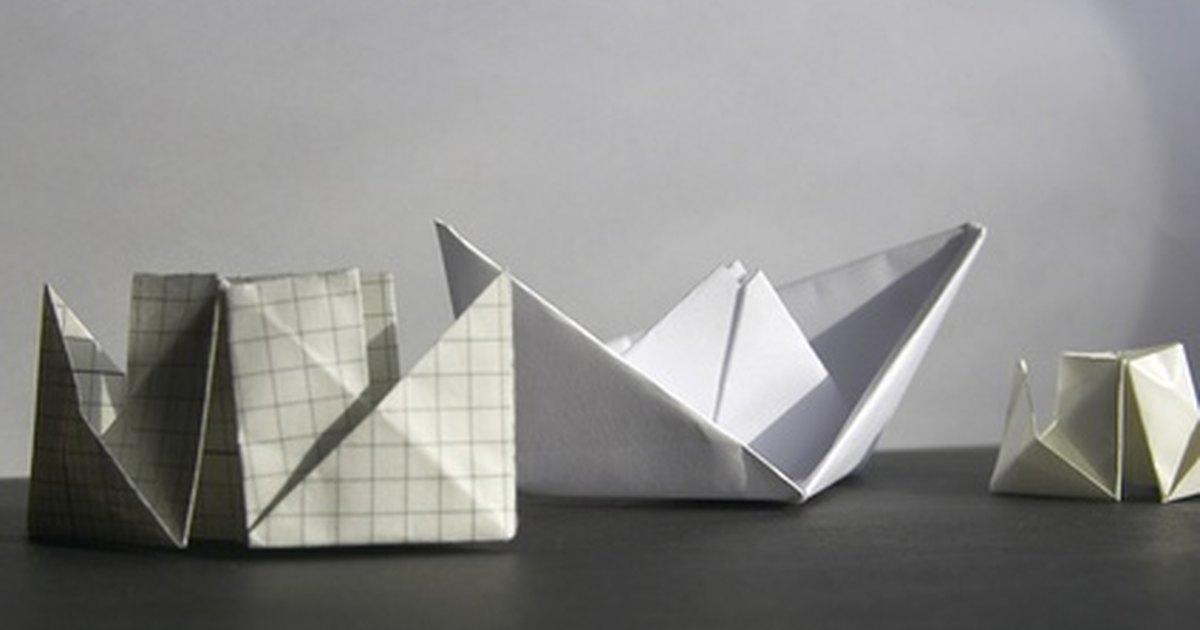 steps make paper origami ship titanic
