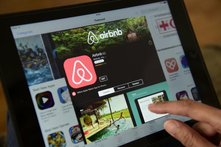 Recherche sur le site d'Airbnb.